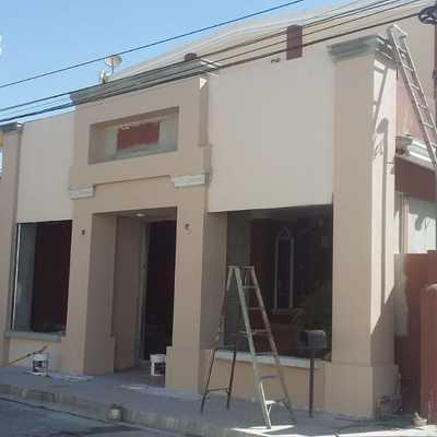 Remodelación de fachada, casa habitación