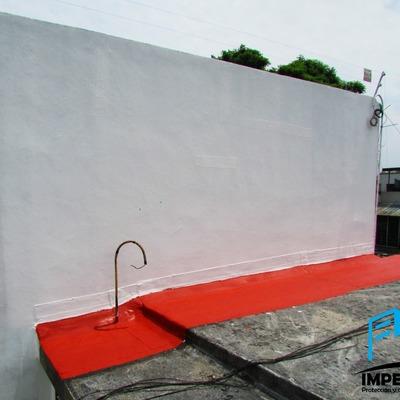Impermeabilización en muro, tratamiento previo.