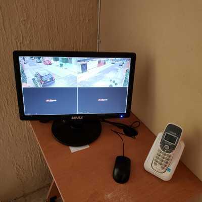 Monitor en estancia