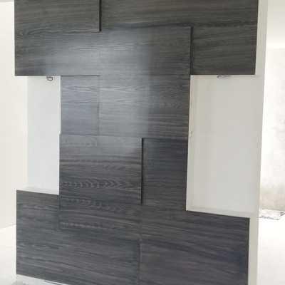 Fondo de pared con laminas de triplay