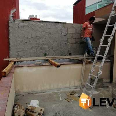 Construcción de muro