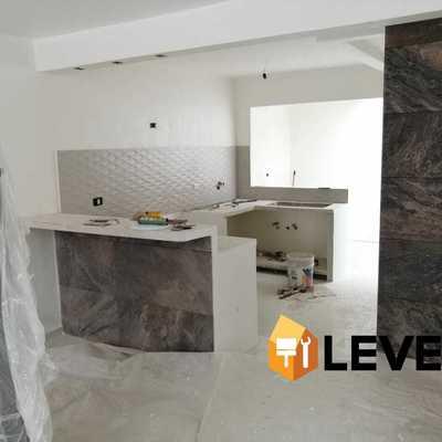 Remodelación de cocina y cambio de pisos