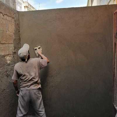 Aplanado en muros