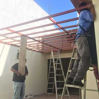 Colocación de domo