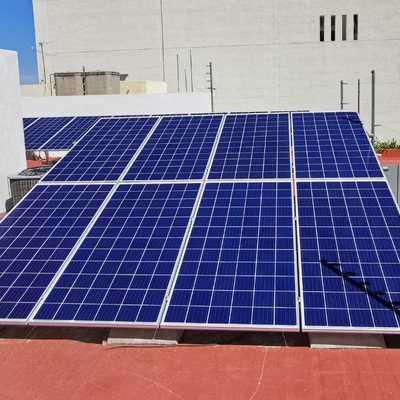 Instalación de paneles canadian solar
