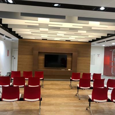 Patio Público de Banco Santander