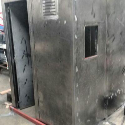 Fabricación de caseta de seguridad