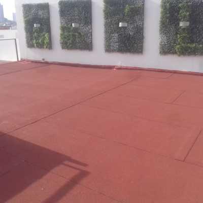 Impermeabilización con rollo asfaltico