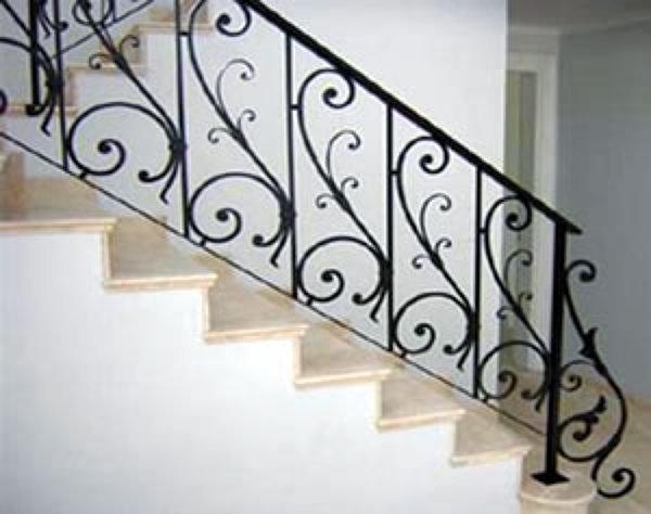 Foto barandal de 134524 habitissimo - Escaleras de forja modernas ...