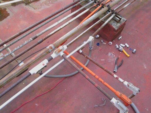 Foto instalacion de nueva tuberia para conexion electrica de al systems ingenierias 152943 - Tuberia para instalacion electrica ...