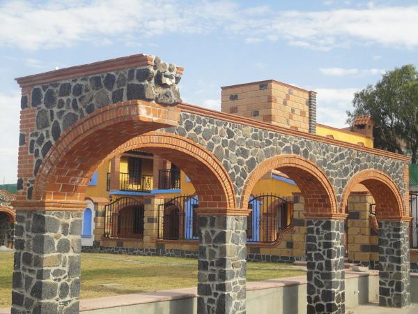 Foto arcos de tabique rojo de construcciones leon 46273 habitissimo - Arcos de ladrillo rustico ...