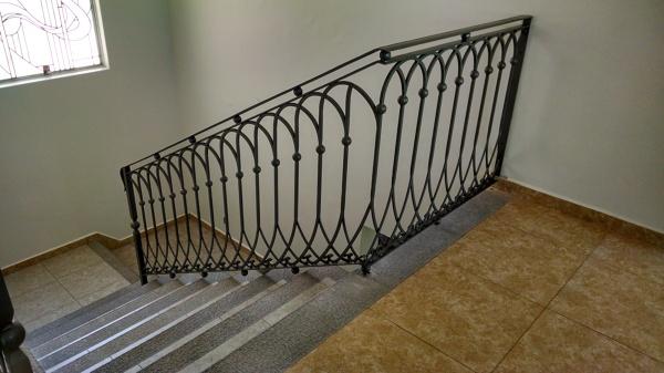 Foto barandales de hierro forjado para casa habitacion de herreria calderon 61876 habitissimo - Escaleras hierro forjado ...