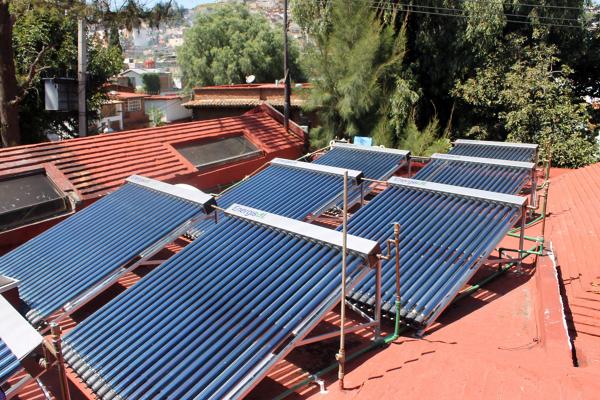Foto calentadores de alberca de calentadores solares sun for Calentadores para jardin