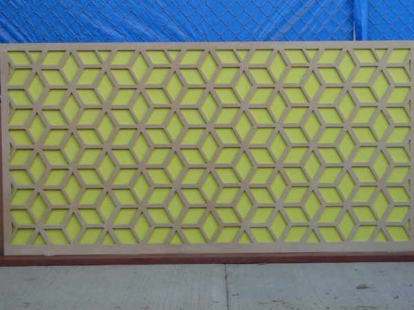 Foto celosias paneles decorativos de mh mobles 55239 for Paneles decorativos de pvc