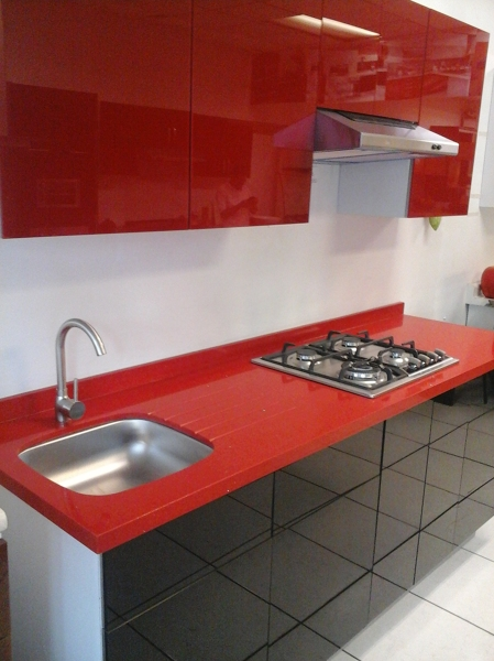 Foto cocina de cristal de cocinas cocinas y algo m s for Cocinas cocinas y algo mas