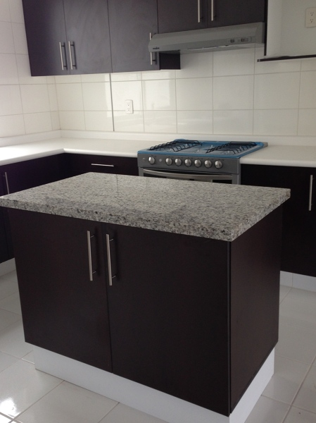 Foto cocina integral con isla de alejandra zavala p 60416 habitissimo - Cocina con isla precio ...
