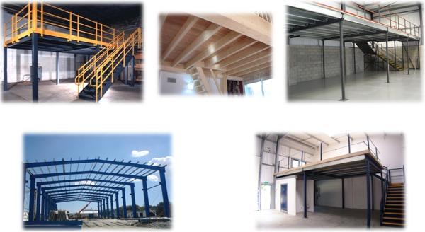 Foto collage estructuras y mezzanines de comercializadora - Foto mezzanine ...