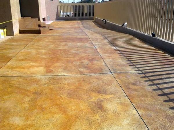 Foto concreto pulido y oxidado de romoarq7 arquitectura y - Cemento pulido exterior ...