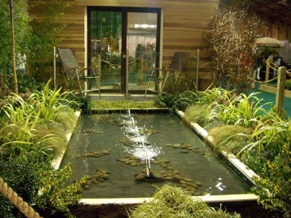 foto construccion de estanque de ingenieria construccion