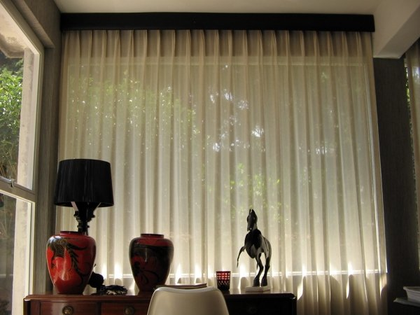 foto cortinas de algodon translucidas de berry blinds