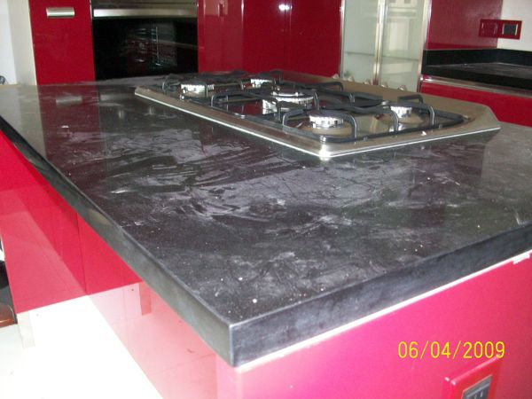 Foto cubierta de cocina de distribuidora de marmol y onix for Cubierta cocina