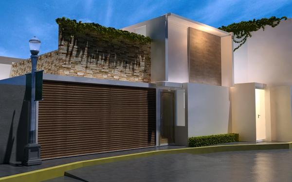 Foto dise o de casa habitacion de arquitectura y avaluos for Diseno de casa habitacion
