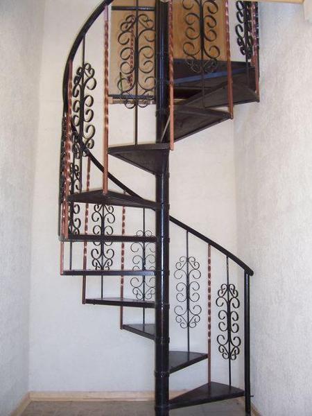 Foto escalera de caracol de ingenieria construccion y for Escaleras de caracol