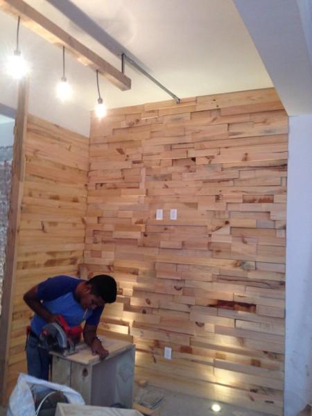 Foto Decoración Interior Con Fachaleta Para Restaurante