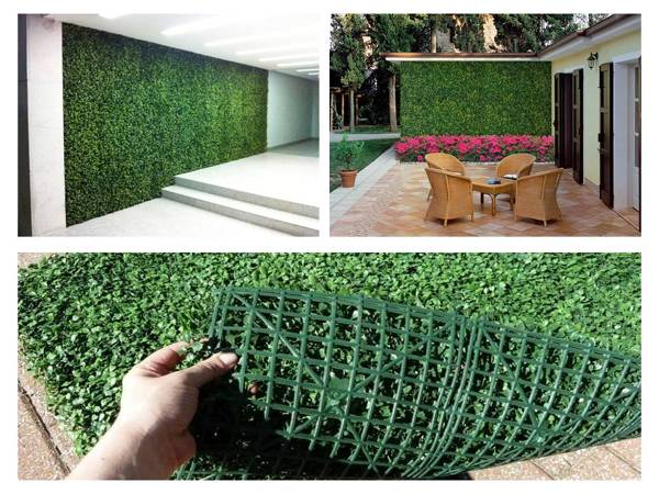 Foto venta de follajes artificiales muros verdes de for Muro verde artificial