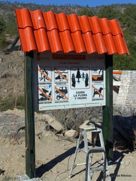 Letrero Baño Vintage:Foto: Letrero para Señalizaciones de Lamine De México #23662