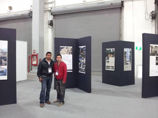 Mamparas Para Baño Zona Sur Avellaneda:Foto: Mamparas para Montaje de Bienal de Arquitectura Expo Cihac de Ar