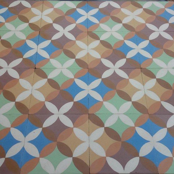 Foto mosaico hidraulico de cemento en 7 colores de ft - Mosaico hidraulico precio ...