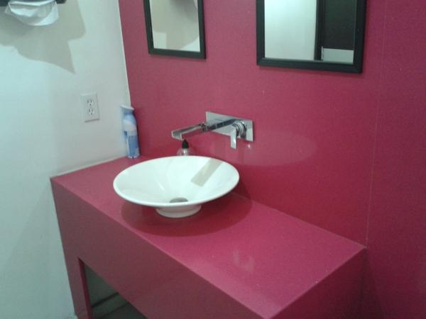 Foto mueble de ba o de f brica de cocinas s a de c v for Mueble bano minimalista