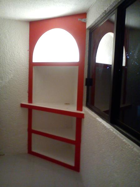 Foto mueble esquinero de remodelaciones profesionales for Imagenes de muebles esquineros