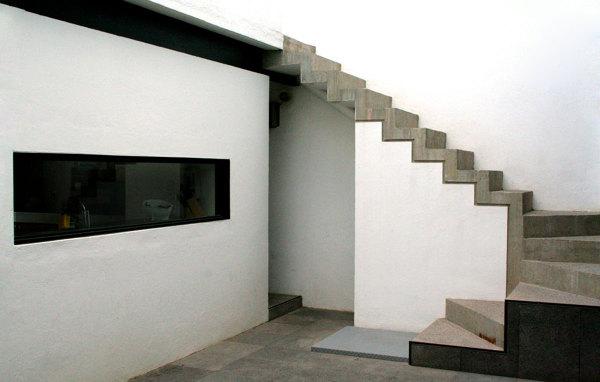 Foto Escalera De Concreto De Ensamble Arquitectura 34011