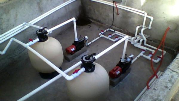 Foto sistema de filtrado y bombeo para alberca for Alberca semiolimpica