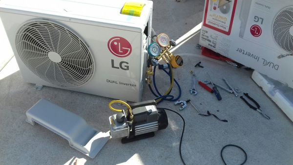 Foto Instalaci 243 N De Condensador De Mini Split De