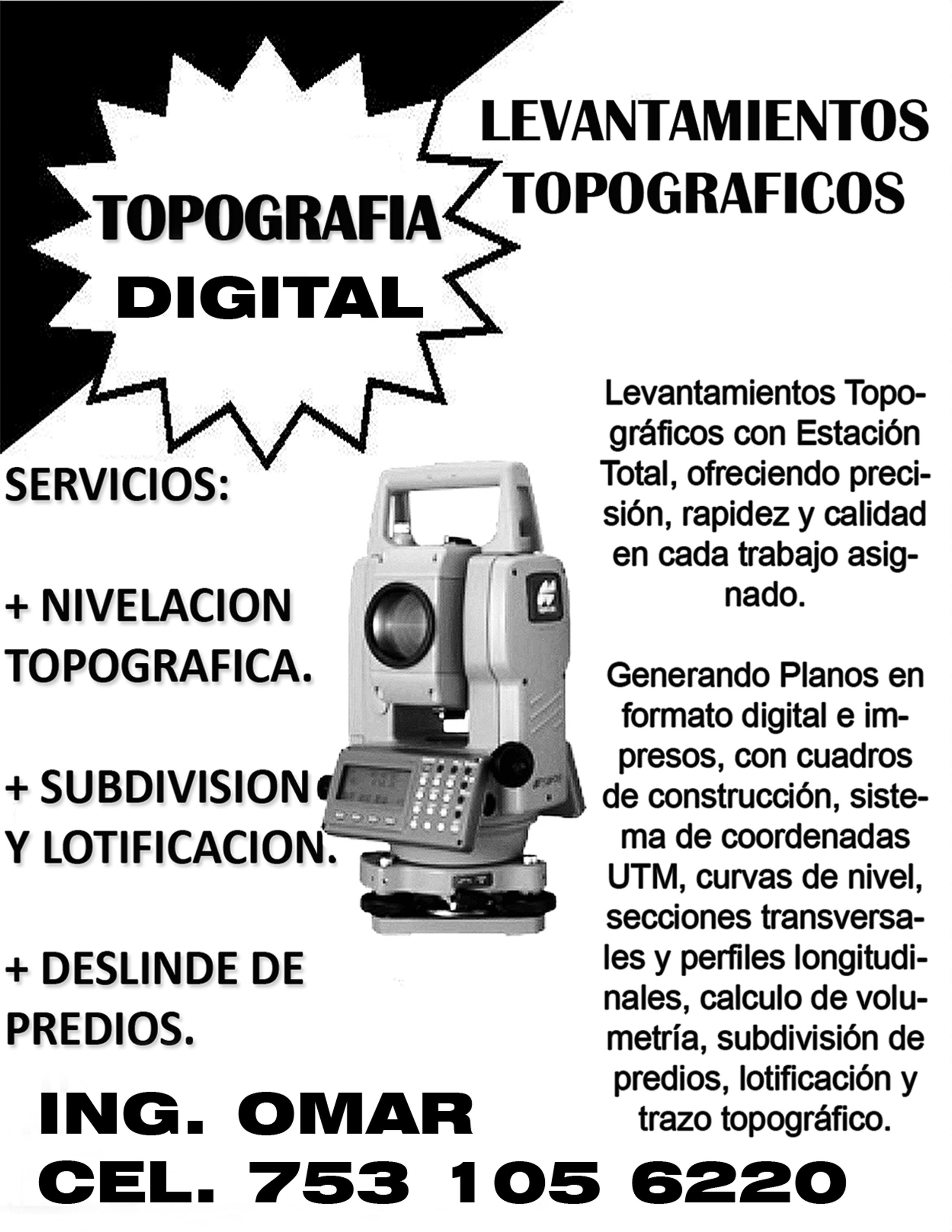 Topógrafo Omar Martinez Navarrete