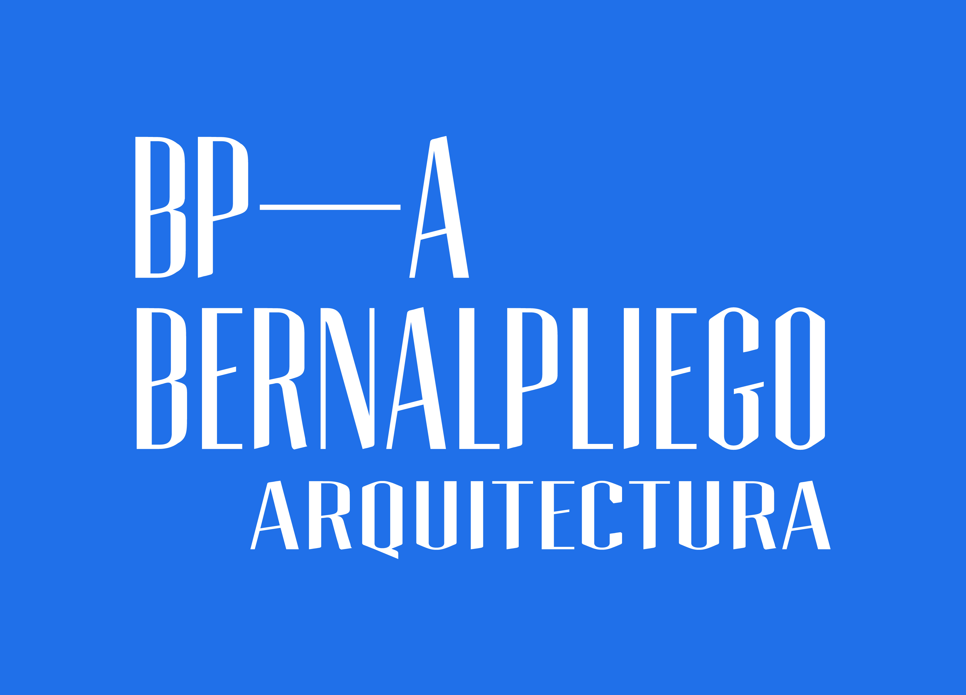Bernalpliego Arquitectura