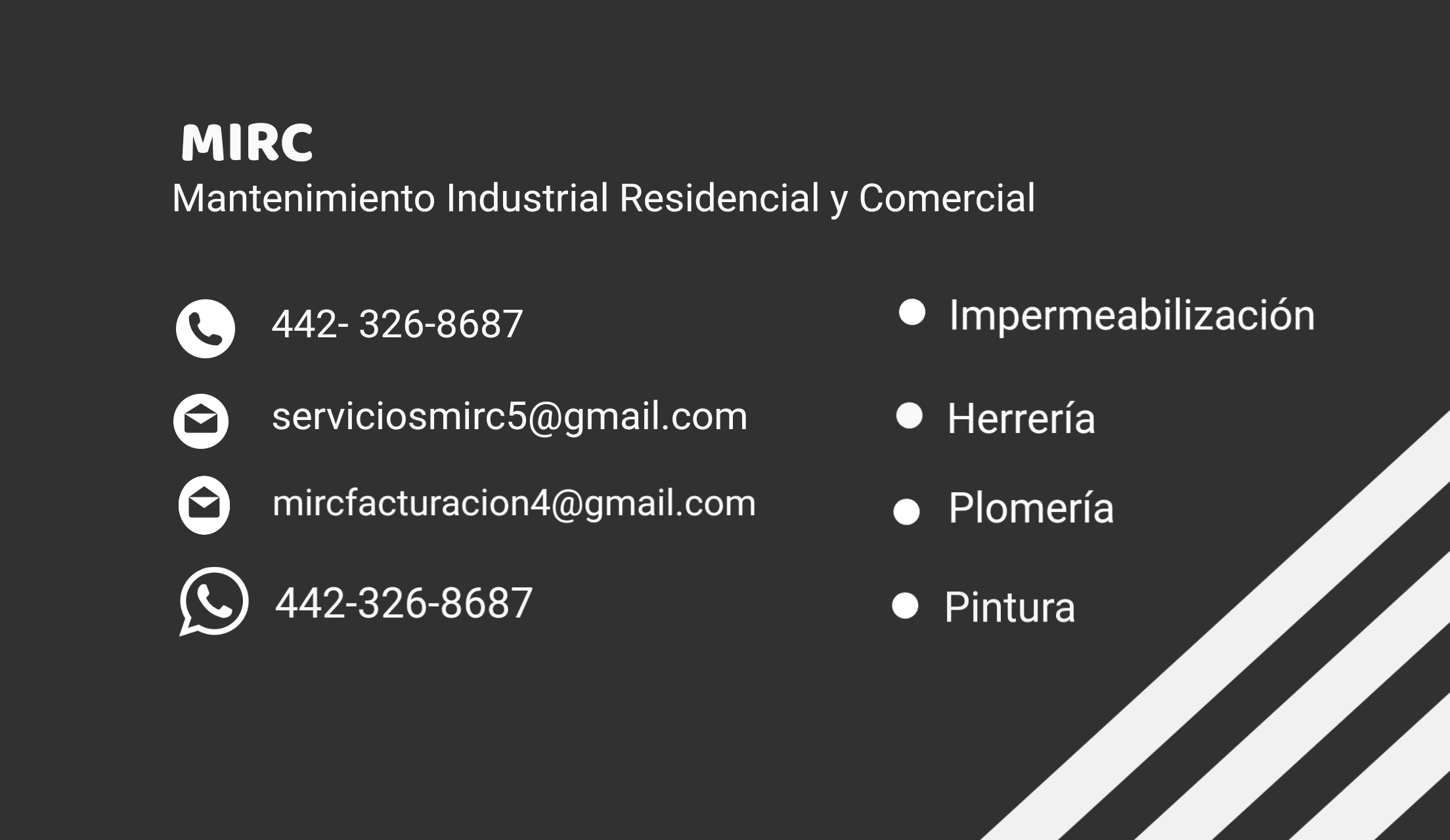 Mirc Mantenimiento Industrial Residencial Y Comercial