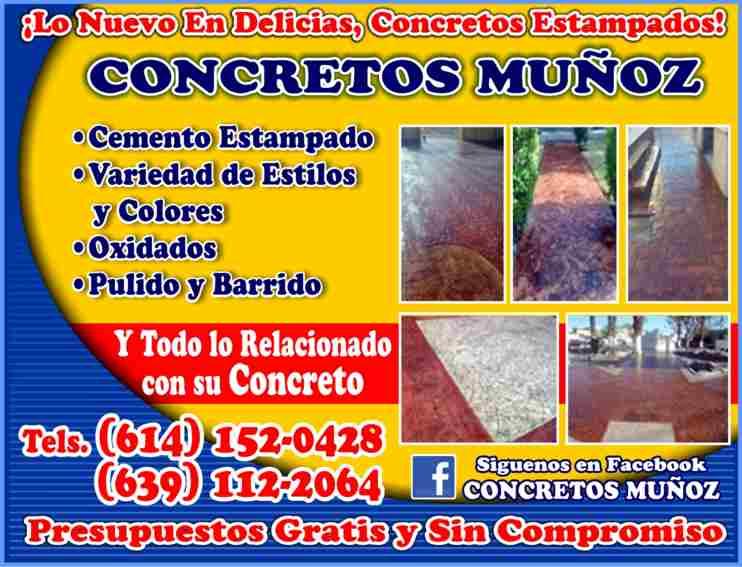 Concretos Estampados Muñoz