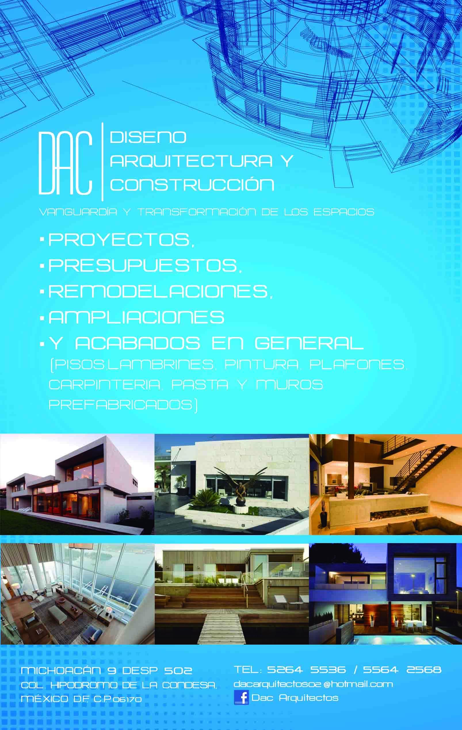 Dac Diseño Arquitectura Y Construccion