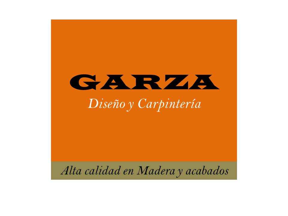 Garza Diseñó Y Carpinteria