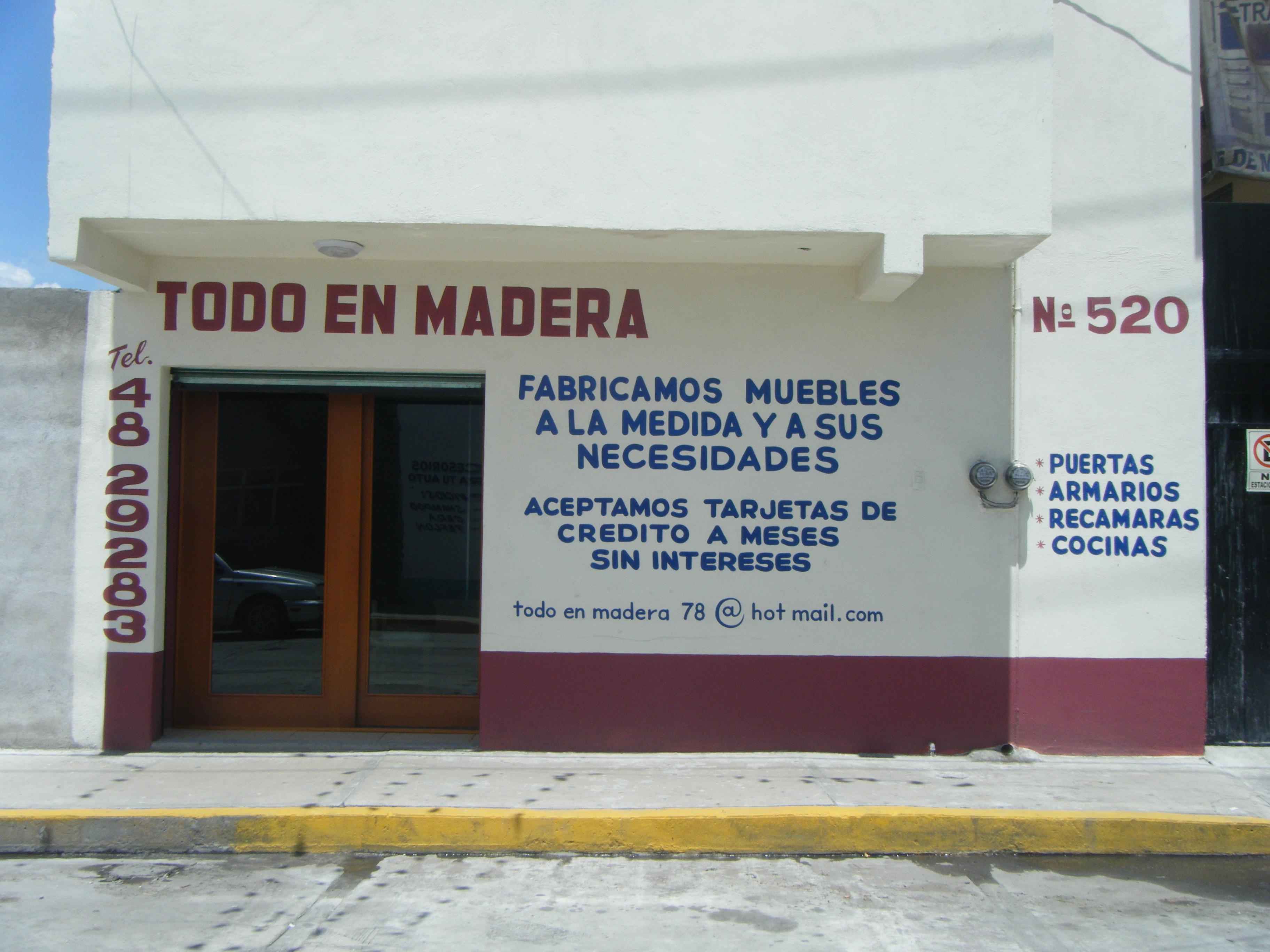 Todo En Madera San Martin