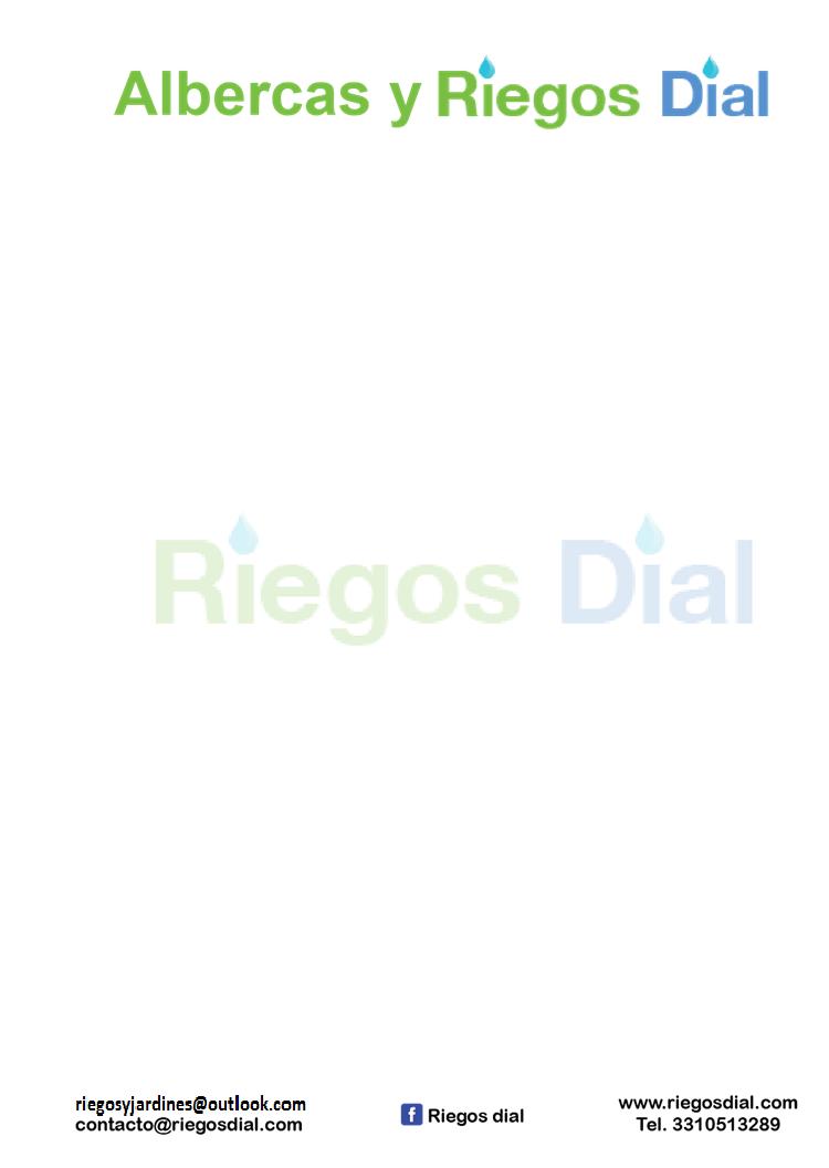 Alberca Y Riegos Dial