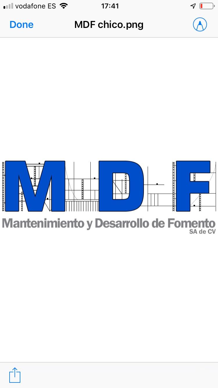 Mantenimiento Y Desarrollo De Fomento, S.a. De C.v.