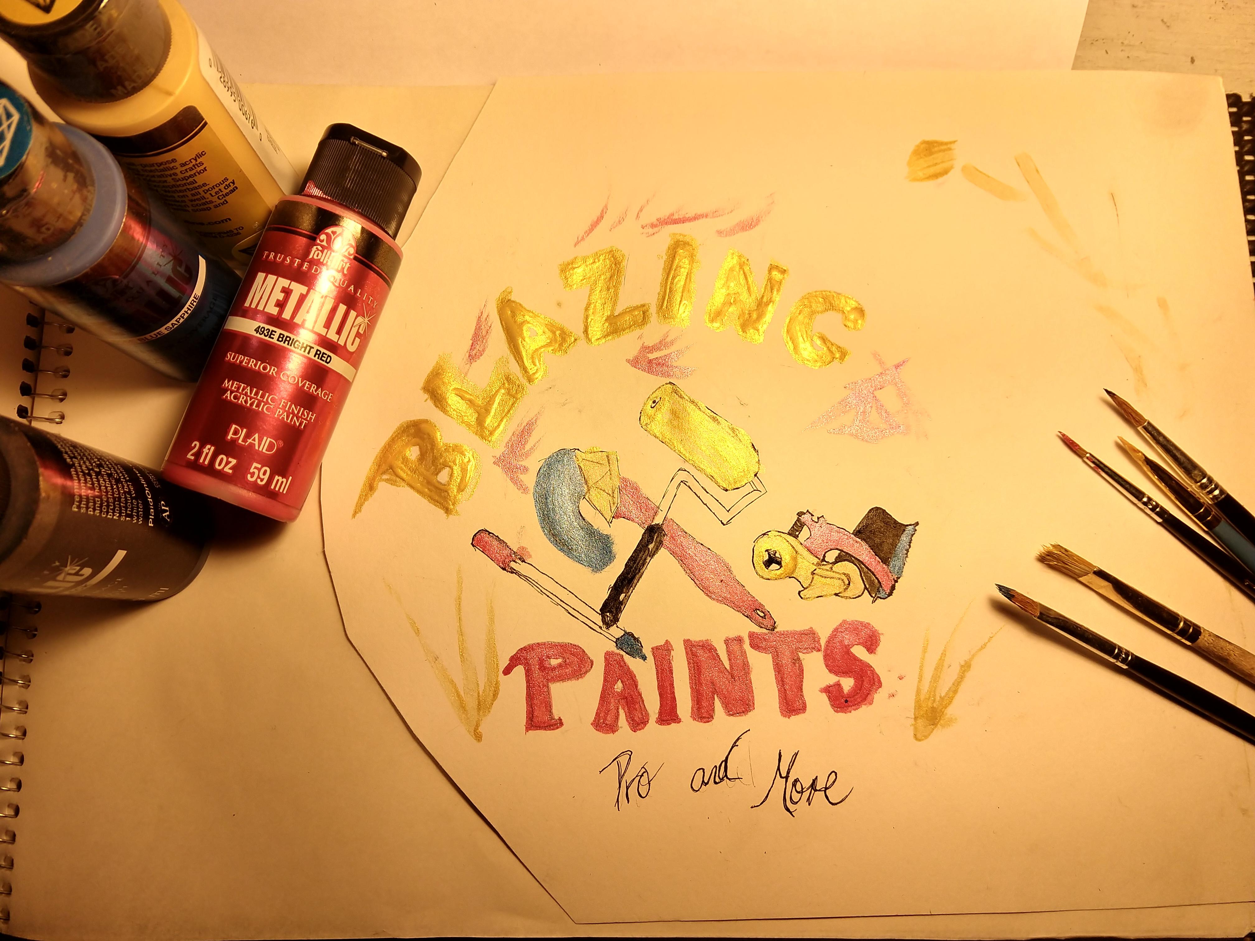 Blazin Paintings