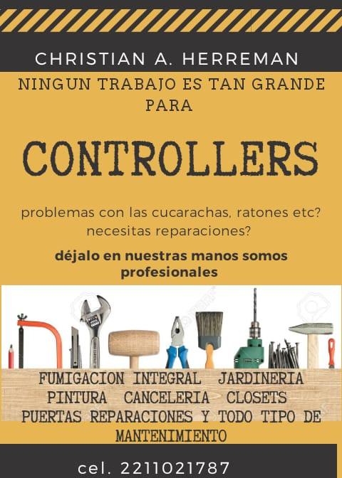 Controllers Expertos En Control De Plagas