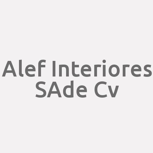 Alef Interiores S.a De C.v.