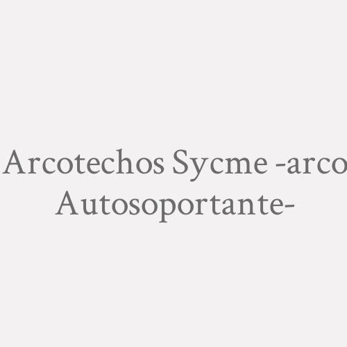 Arcotechos Sycme -arco Autosoportante-